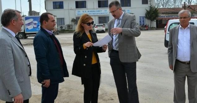 Başkan Özkan, yatırımları inceledi