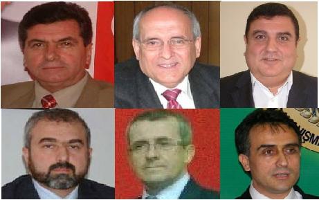 Belediye başkan adayları belirlendi