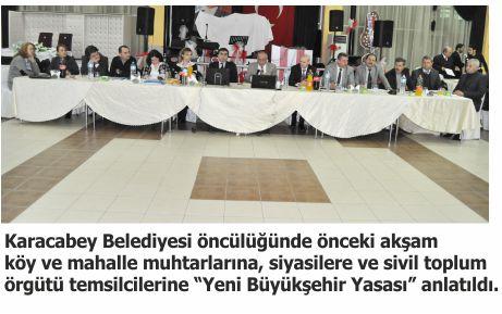Belediyecilik hizmetlerinde tüm yetki Büyükşehir'in