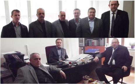 Borsa'dan Kızılay ve DSP'ye ziyaret