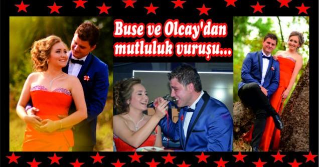 Buse ve Olcay'dan mutluluk vuruşu…