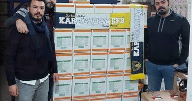 GFB'den 300 aileye erzak yardımı