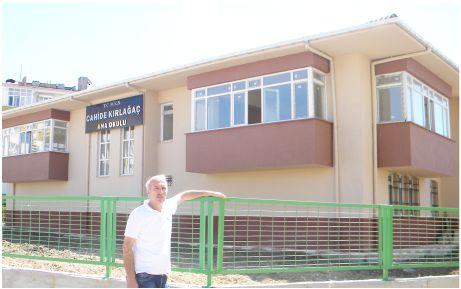 Cahide Kırlağaç Anaokulu'na Belediye desteği