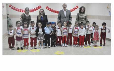 Cahide Kırlağaç Anaokulu'nda görkemli bayram
