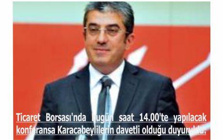 CHP Genel Başkan Yardımcısı ilçe halkını bilgilendirecek