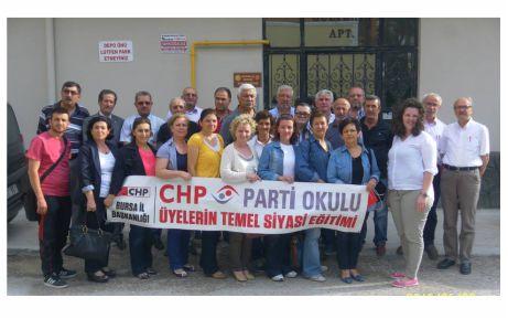 """CHP, """"Parti Okulu"""" çalışmalarını tamamladı"""