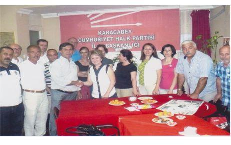 CHP'de devir-teslim ve görev dağılımı