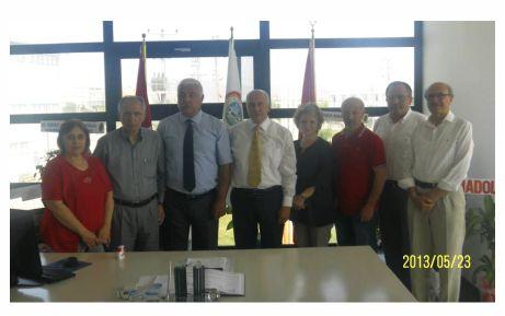 CHP'den KTSO'ya kutlama ziyareti