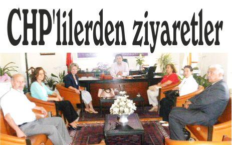 CHP'lilerden ziyaretler
