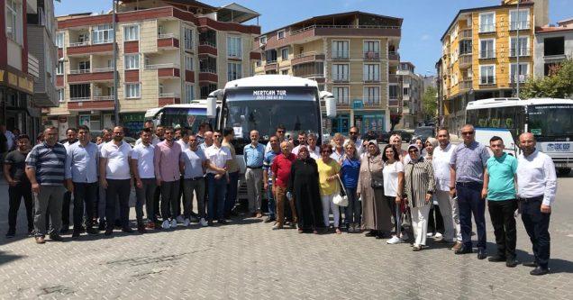 Karacabey'den Cumhurbaşkanı Erdoğan'a sevgi seli