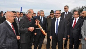Defne Yaprağı Kurutma Tesisi törenle açıldı