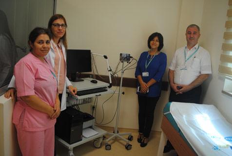 Hastane'de yeni  cihazlar hizmette