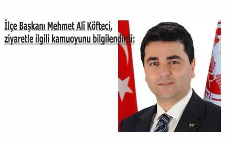 DP Genel Başkanı Bursa'ya geliyor