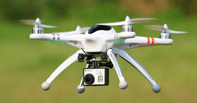 Drone, kayıp  koyunları buldu