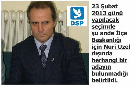 DSP, seçime gidiyor!