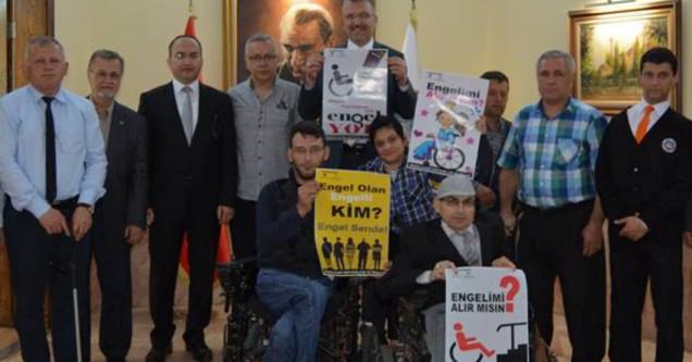 Engelliler için sosyal merkez yapılıyor