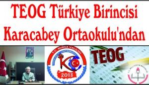 TEOG Türkiye Birincisi Karacabey Ortaokulu'ndan