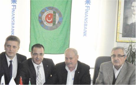 Finansbank'tan Karacabey tarımına destek