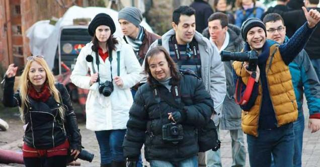Fotoğraf Sanatı kursiyerleri Gölyazı'yı çekti