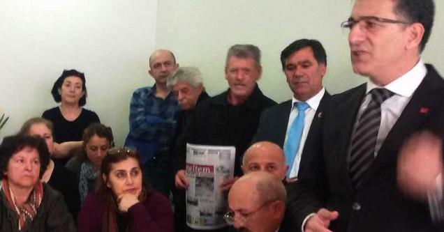 Akdoğan, destek istedi