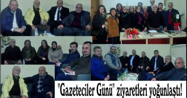"""""""Gazeteciler Günü"""" ziyaretleri yoğunlaştı!"""