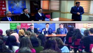 'Gençler ile Akademik Söyleşiler Projesi'ne devam!