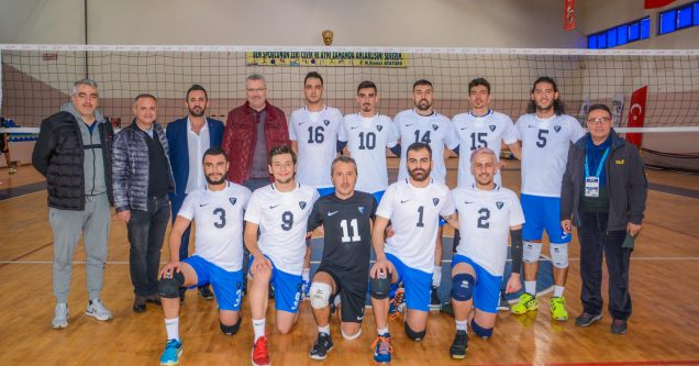 Belediyespor Voleybol Takımı  şampiyonluk yolunda