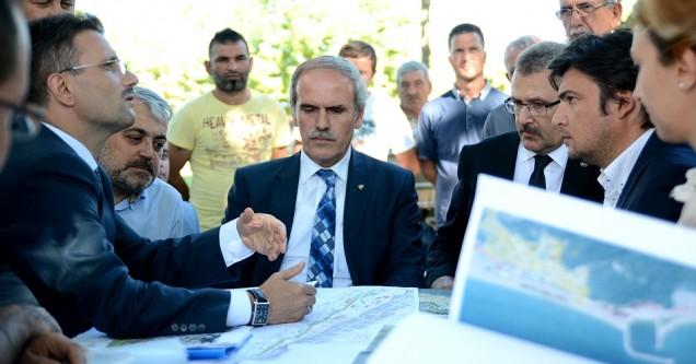 Yeniköy  projesi yerinde incelendi