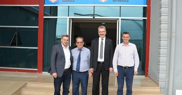 Başkan Özkan'dan Özel Tan Okulları'na ziyaret