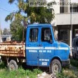 Devlet malı araç, hurdaya atıldı