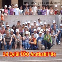 14 Eylül İlköğretim Okulu'nun yıl sonu gezisi