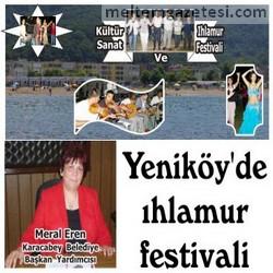 Yeniköy'de ıhlamur festivali