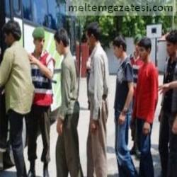 Kaçak göçmenler Karacabey'de yakalandı