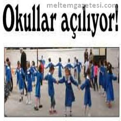 Okullar açılıyor!