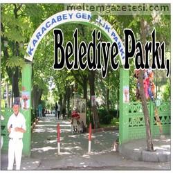 Belediye Parkı, düğün bahçesi mi oldu?