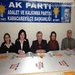 AK Parti'de siyasete hanımeli değdi