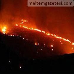 Salça Fabrikasında yangın
