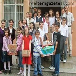 Cumhuriyet İÖO'dan kardeş okullara destek