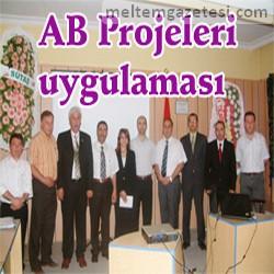 AB Projeleri uygulaması