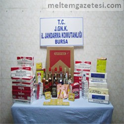 Kaçak içki ve sigara satanlara dikkat!