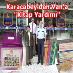 Karacabey'den Van'a kitap yardımı
