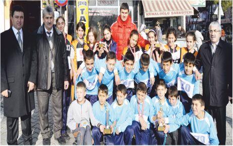 Hacı Ahmediye'de atletizm fırtınası
