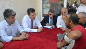 Mustafa Esgin halkla buluştu