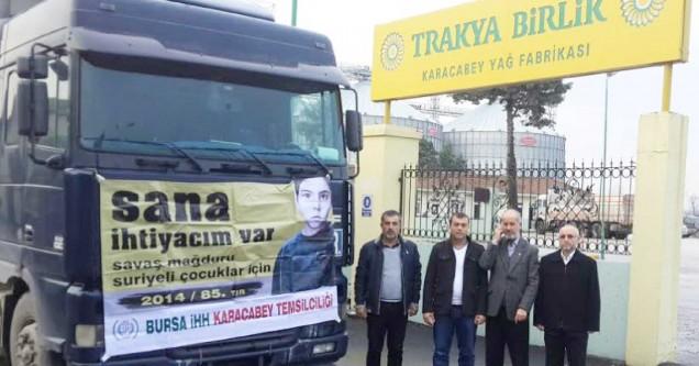 İHH'dan Türkmenlere kışlık yardım