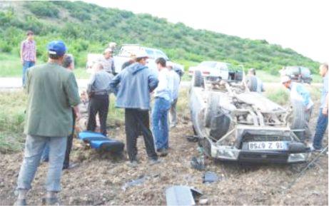 İki ayrı kaza korku saldı: 7 yaralı