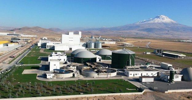 Türkiye'nin ilk biyogaz tesisine GBC imzası