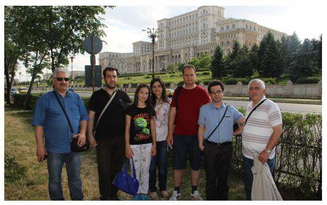 İ.M.K.B. Comenius  ekibi ilçeye döndü