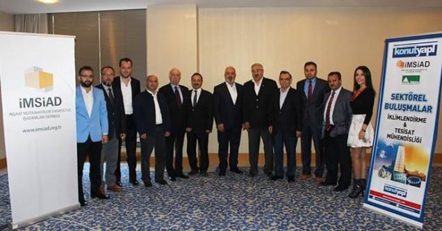 AS Doruk Mühendislik sektör  temsilcileri ile bir araya geldi