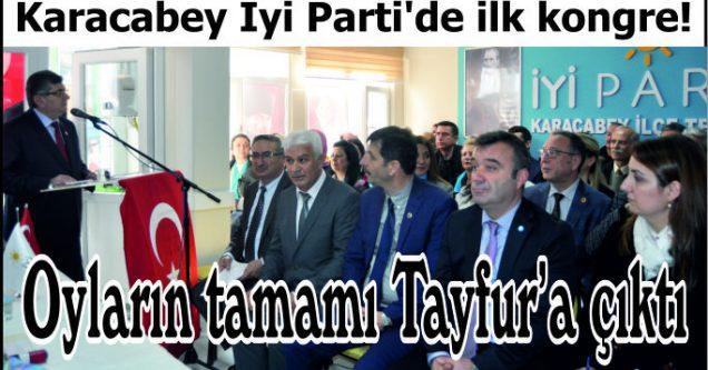 Oyların tamamı  Tayfur'a çıktı