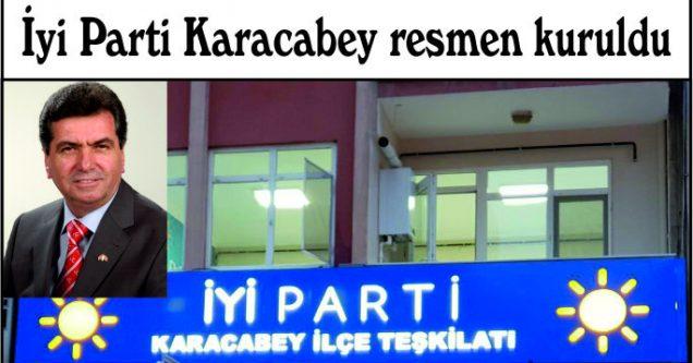 İyi Parti Karacabey resmen kuruldu